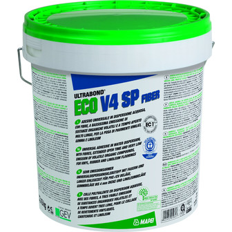 Mapei Ultrabond Eco V4 SP Fiber EC1 PLUS faserarmierter Dispersionsklebstoff