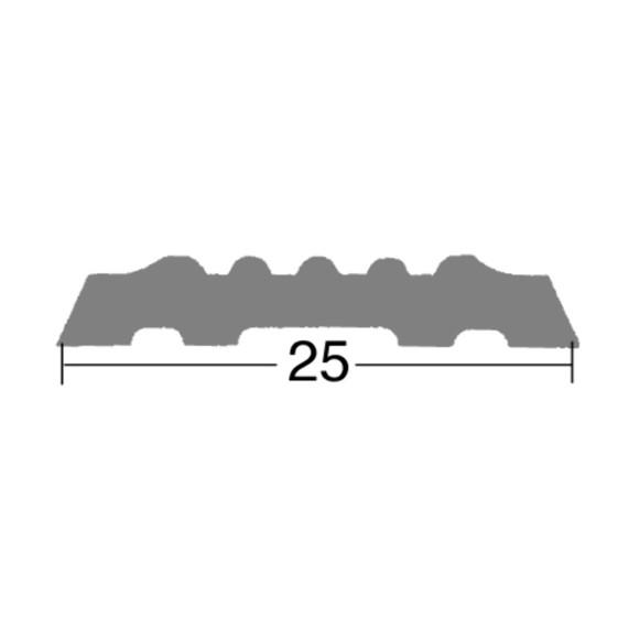 Pvc Einlage 27 Mm Gerippt Fur Profil Nr 81 82 14 Jetzt Im