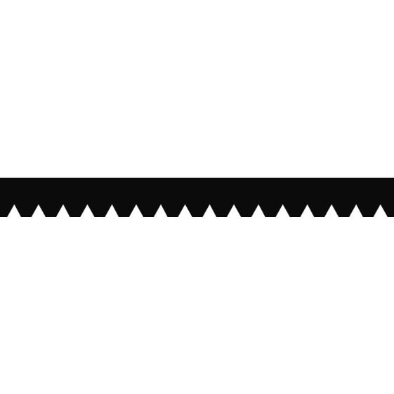 Stahl-Zahnspachtel B2